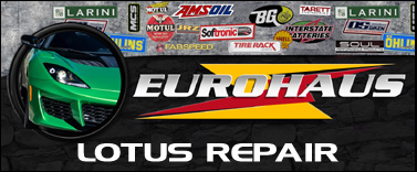 EuroHaus Lotus RepairLOTUS GT4 Race Prep And Lotus Repair